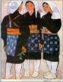 日本美人画:大原的姑娘们