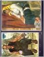 谢森、周度其油画作品两幅