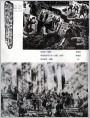 抗日战争和世界反法西斯战争胜利四十年(版画油画)